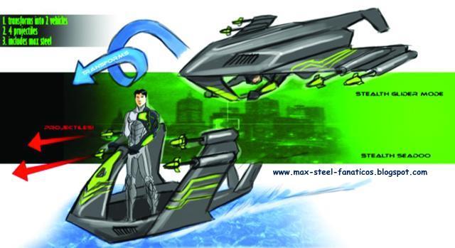 Max steel turbo stealth