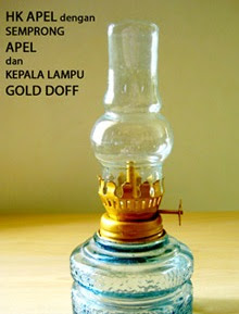 Edgar Collection Souvenir Lampu Teplok Harga Grosir