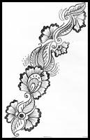 mehndi sketchs