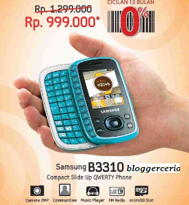 Samsung B3310 di Indonesia