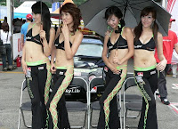 Foto Seksi Umbrella Girl