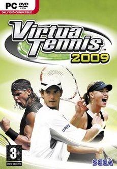 Virtua Tennis 2009 Free Download Poster