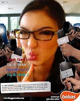 Sarah Aprilia Iklan XL