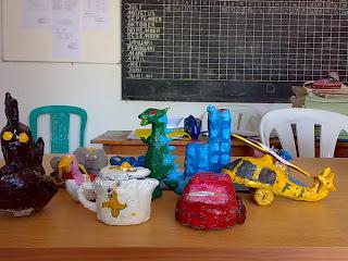 Kreatifitas anak2 Mi Islamiyah Sumberjo Merakurak Tuban