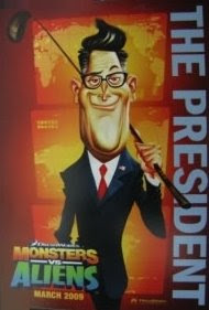 President - Monsters vs Aliens