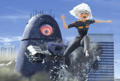 Monsters vs Aliens, A Dreamworks Movie