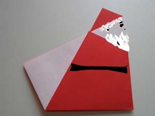 Origami Santa Claus