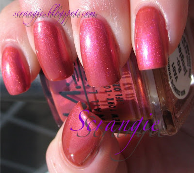 Scrangie: Free Nail Polish from Misa! A gift to my readers.