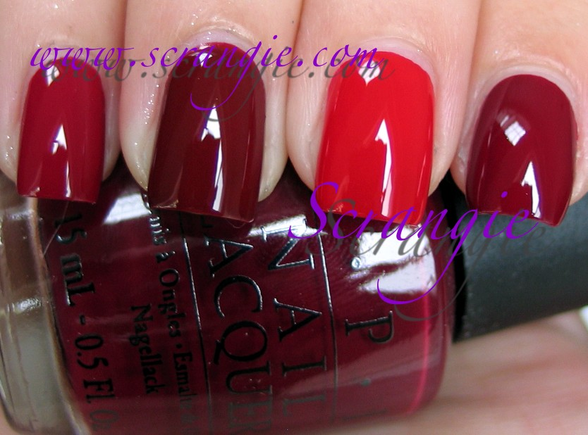 Scrangie: OPI Swiss Collection Fall 2010 Swatches