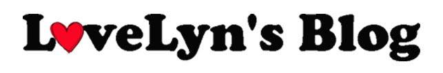 LoveLyn's Blog