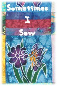 Sometimes I Sew