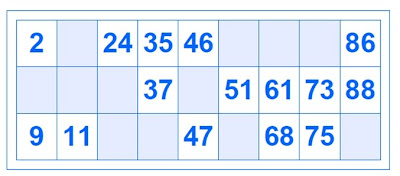 Cosas Online Vidainternet: Gerenador Cartones de Bingo