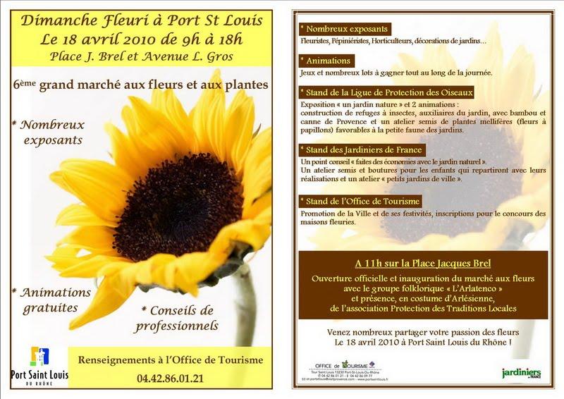 Office de tourisme de port saint louis du rh ne 7 mai 2010 - Office du tourisme port saint louis du rhone ...