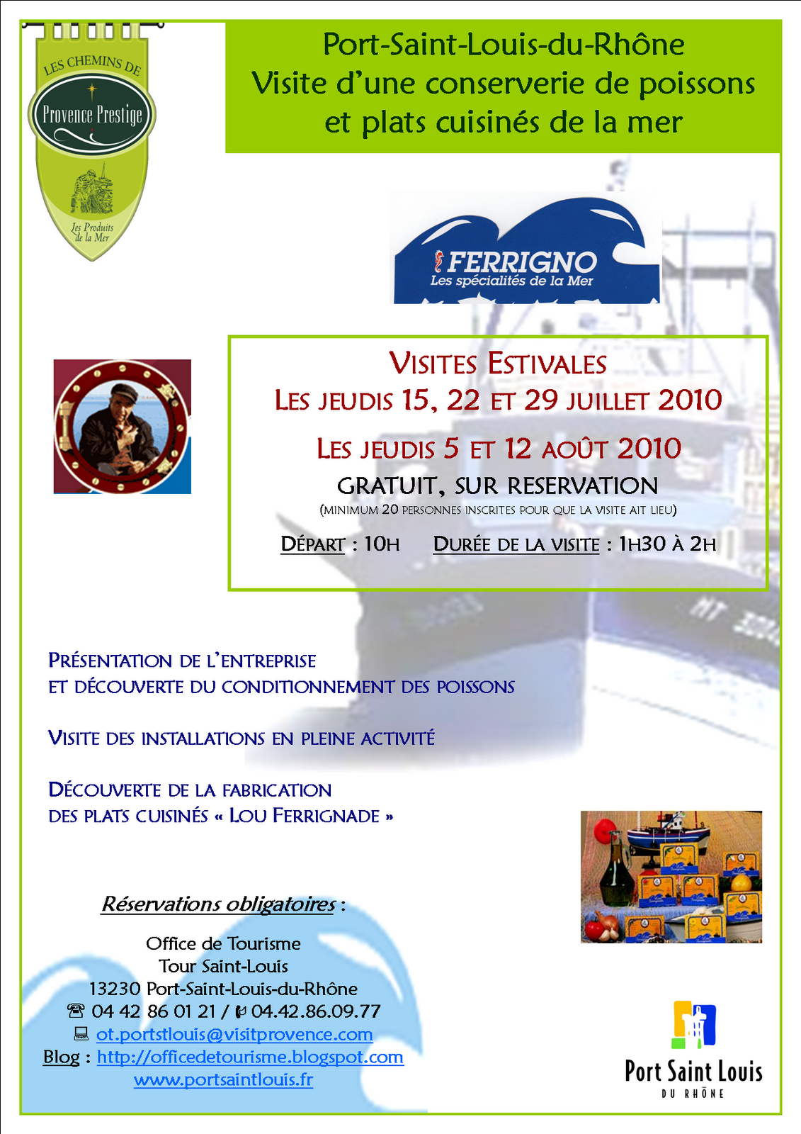 Office de tourisme de port saint louis du rh ne 20 mai 2010 - Office du tourisme port saint louis du rhone ...