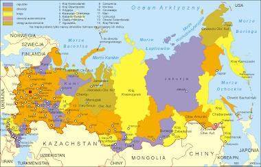 Podział administracyjny Federacji Rosyjskiej
