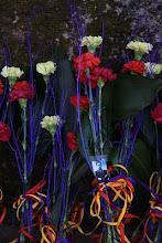 Homenaxe aos fusilados en Ferrol, parede do cemiterio de Canido