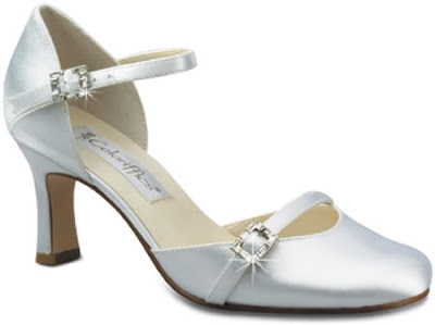 Comfortable bridal shoes - Ivory bridal shoes