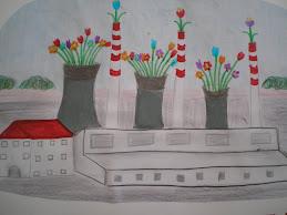 Εμείς βάζουμε λουλούδια...