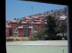 Vista de Valparaiso desde la SEBASTIANA