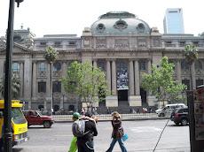 Biblioteca nacional de Santiago