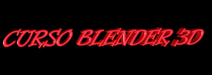 CURSO BLENDER 3D