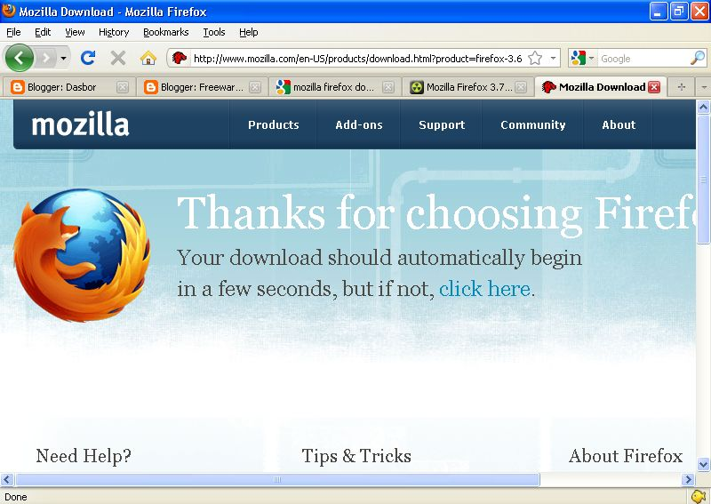 Firefox windows 10