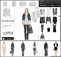 Fashion simulateur