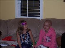 Valerie's Sister Amanda Holding Valerie's Hand