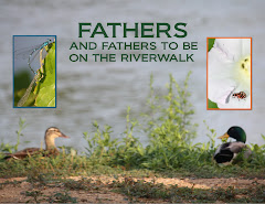 FATHERS AND FATHERS TO BE ON THE RIVRWALK