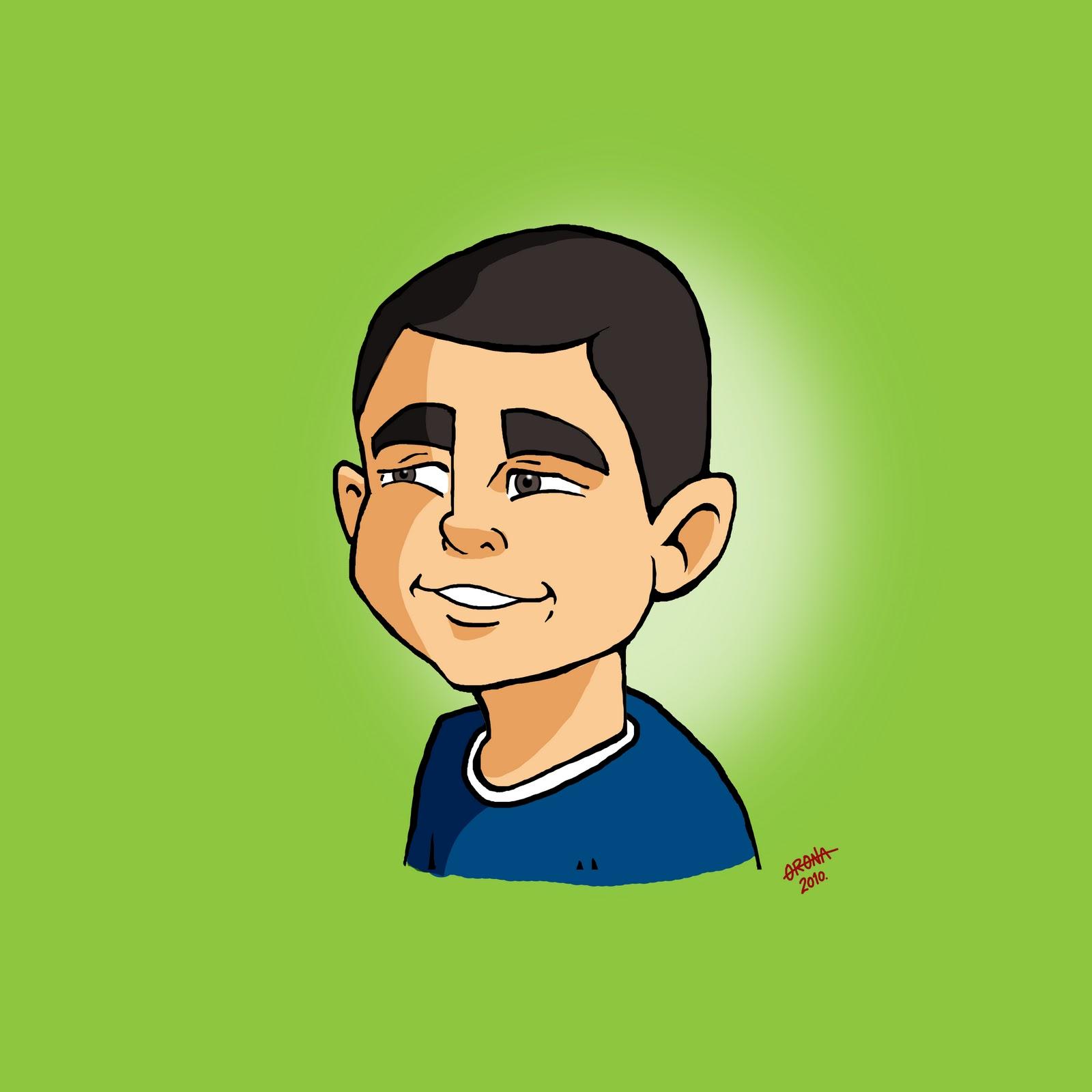 Ilustraciones, monos y dibujos: Caricaturas de niños-1