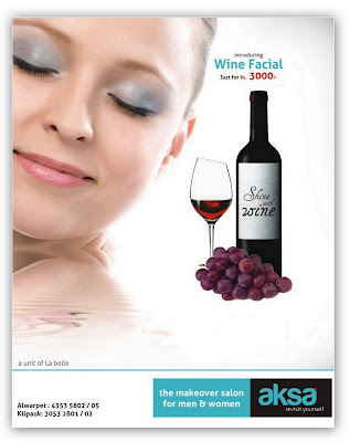 Online Deals on Wine Facial