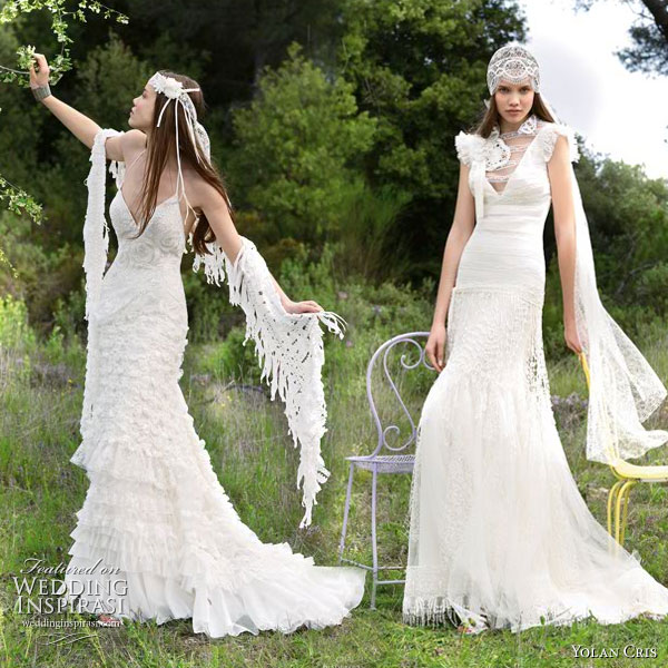 Hippie Wedding Dresses Peace Love Hippie