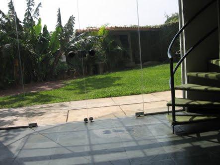 vista para quintal