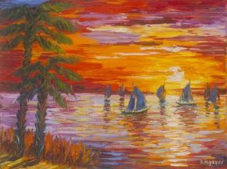 Blue Sails. Slava Ilyayev.