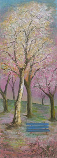 Spring Fantasy by David Najar. Oil painting on canvas.