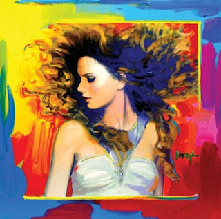 Peter Max portrait of Taylor Swift. Image courtesy of Tampa Bay Online.
