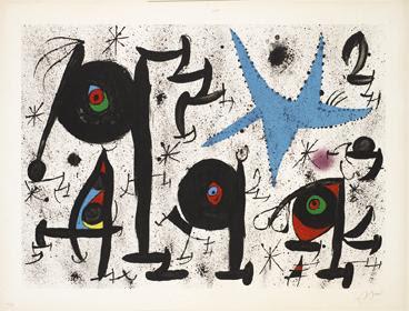 Homenatge a Joan Prats (M.721) by Joan Miro