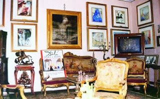 The Albaretto family's living room