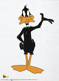 Daffy Mini. ©2002 Authentic Images Inc. LOONEY TUNES characters, names and all related indicia are trademarks and © of Warner Bros.