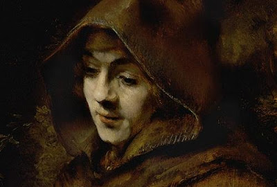 Rembrandt Harmensz van Rijn. Portrait of His Son Titus, Dressed as a Monk (detail). 1660. © Rijksmuseum, Amsterdam