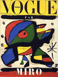 Joan Miro, Vogue Covers, Champs Elysees