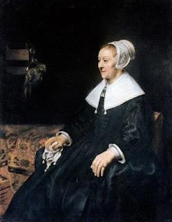 Rembrant van Rijn. Portrait of Catrina Hooghsaet, 1657.