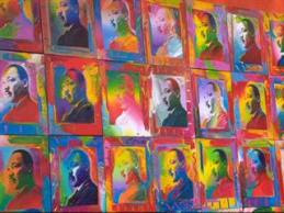 Peter Max portrait of Martin Luther King