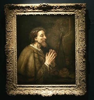 Rembrandt's Saint James The Greater, 1661. (Lefteris Pitarakis/Associated Press)