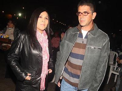 Tula Rodriguez junto a su esposo Javier Carmona