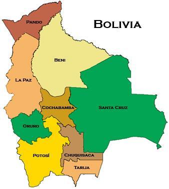 Datos de Bolivia