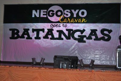 Diana Limjoco for the gonegosyo award for Most Inspiring Batangueno special category