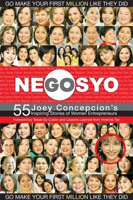 Book jacket of Gonegosyo-55 Inspiring Stories of Women Entrepreneurs.
