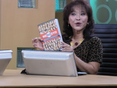 Diana Limjoco on Net 25 TV Homepage show promoting Gonegosyo's book: 55 Inspiring stories of women entrepreneurs