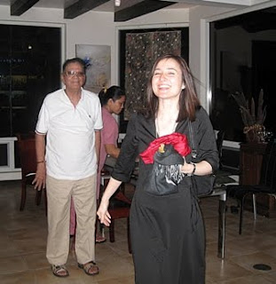 My neice, Kathy Limjoco Sison and dad Ramon A Limjoco. Parting shot!
